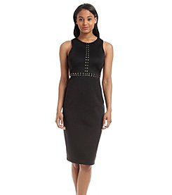 Jessica Simpson Studded Scuba Dress