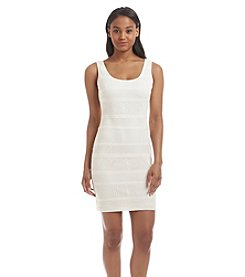 GUESS Crochet Knit Sheath Dress
