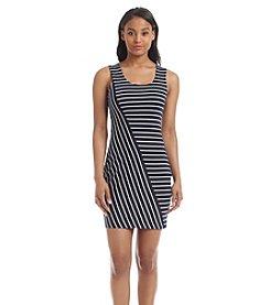 GUESS Striped Sheath Dress