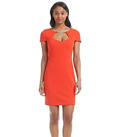 Jessica Simpson Cutout Sheath Dress