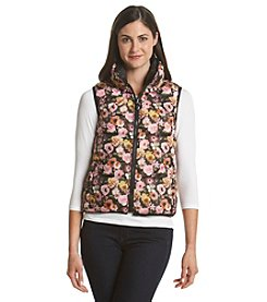Betsey Johnson® Floral Printed Down Vest