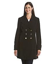 Ivanka Trump® Faux Silk Fit And Flare Coat