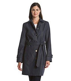 Ivanka Trump® Belted Chambray Trench Coat