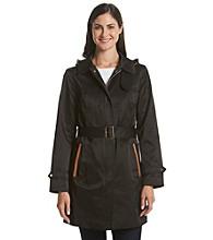 Jones New York® Hooded Trench Coat