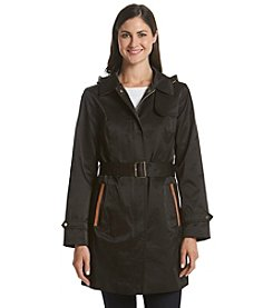 Jones New York® Hooded Trench Coat