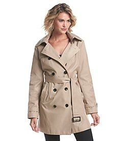MICHAEL Michael Kors® Detachable Hood Trench Coat