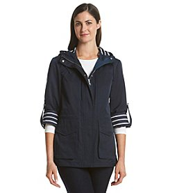 Tommy Hilfiger® Striped Cuffs Anorak