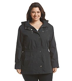 Mackintosh Plus Size Elastic Waist Anorak Jacket