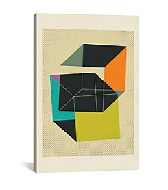 iCanvas Cubes V by Jazzberry Blue Canvas Print