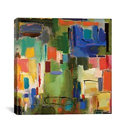 iCanvas Color Essay with Green by Kim Parker Canvas Print