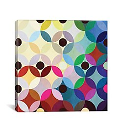 iCanvas Circular Motion by 5by5collective Canvas Print