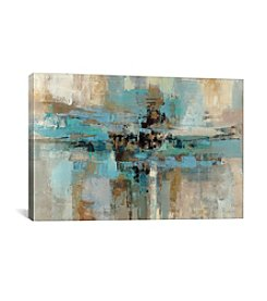 iCanvas Morning Fjord by Silvia Vassileva Canvas Print