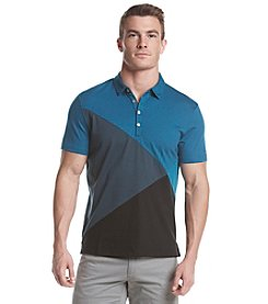 Calvin Klein Men's Colorblock Short Sleeve Polo
