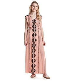 Skylar & Jade™ Geo Print Maxi Dress