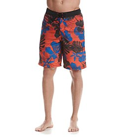 Speedo® Men's Gradated Floral Board Shorts
