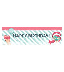 Little Spa Happy Birthday Banner