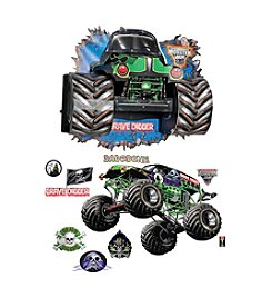Monster Jam 3D Wall Decals and Standup Burst Kit