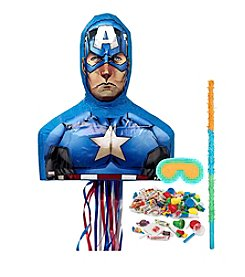 Captain America® 3D Pinata Kit