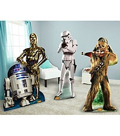 Star Wars™ Chewbacca, Stormtrooper, R2D2 & C3PO Standup Combo Kit