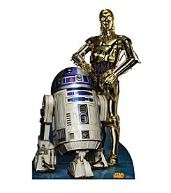 Star Wars R2D2 & C3PO Standup