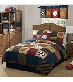 My World® Classic Sports Quilt Set