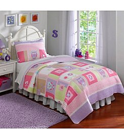 Laura Hart Happy Owls Quilt Set