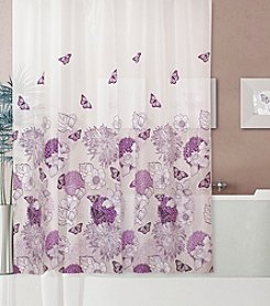 Dainty Home Garden Shower Curtain