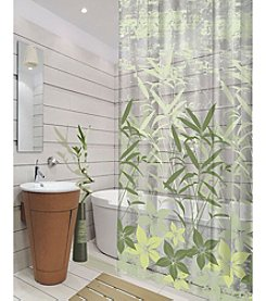 Dainty Home Oasis Shower Curtain