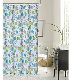 Dainty Home Bubbles Shower Curtain