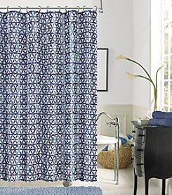 Dainty Home Iron Gate Shower Curtain