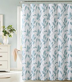 Dainty Home Nouveau Leaf Shower Curtain