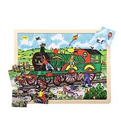 Bigjigs Toys Train 24-pc. Tray Puzzle
