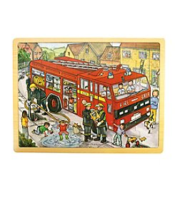 Bigjigs Toys Fire Engine 24-pc. Tray Puzzle