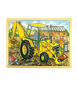 Bigjigs Toys Digger 24-pc. Tray Puzzle