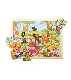 Bigjigs Toys Teddy's Picnic 24-pc. Tray Puzzle