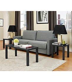 W. Designs Essential Wood 3-Pack Table Set