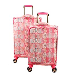 J World® Pink Forest Bella Collaboration 2-pc. Luggage Set