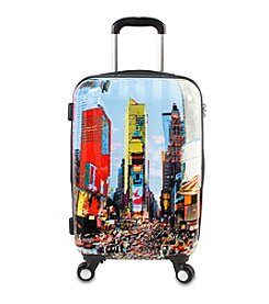 J World® Times Square Art Carry-On Luggage