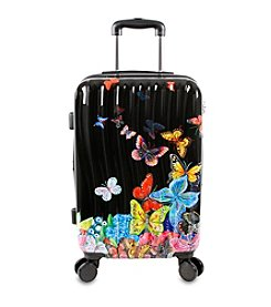 J World® Butterfly Art Carry-On Luggage