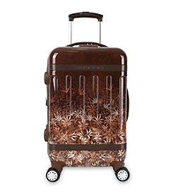 J World® Brown Night Taqoo Art Carry-On Luggage