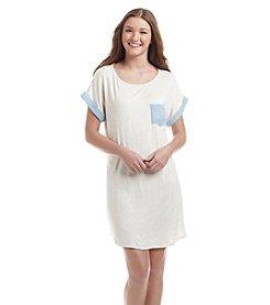Living Doll® Mixed Pocket Tee Dress