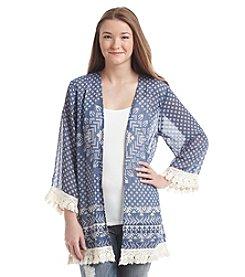 Jolt® Printed Kimono
