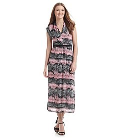 Kensie® Ombre Dot Maxi Dress