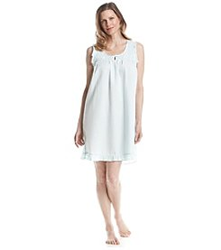 Miss Elaine® Woven Nightgown