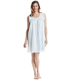 Miss Elaine® Woven Cotton Nightgown