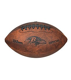 Wilson NFL® Baltimore Ravens Throwback Football - 9
