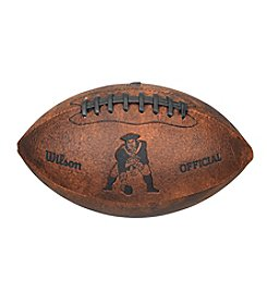 Wilson NFL® New England Patriots Throwback Football - 9