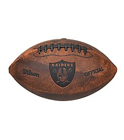 Wilson NFL® Oakland Raiders Throwback Football - 9