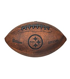 Wilson Pittsburgh Steelers Throwback Football