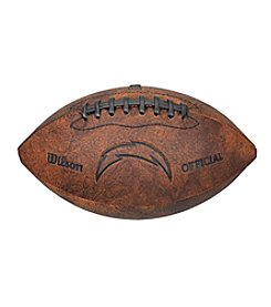 Wilson San Diego Chargers Throwback Football